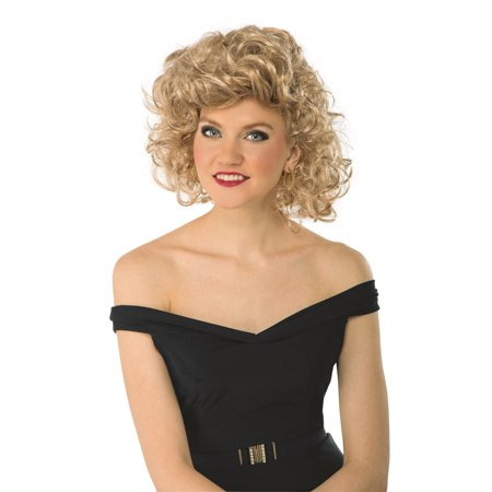 Grease- Bad Sandy Wig Halloween Costume Accessory