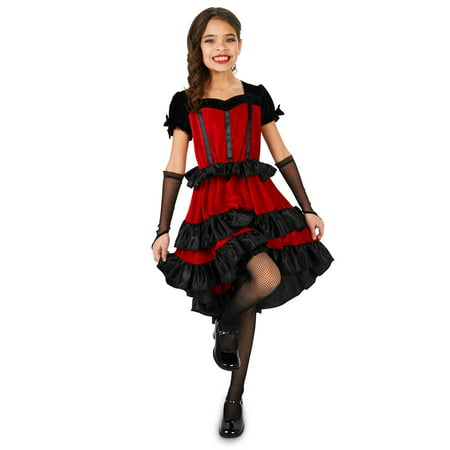 Can Can Dancer Child Costume - Can Can Dancers Costumes