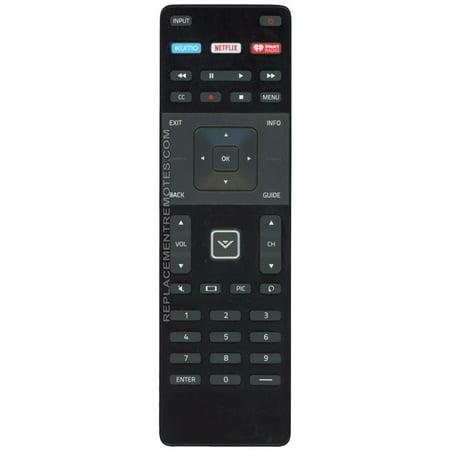 Substitute for VIZIO XRT122 (p/n: 600156T00886G) TV Remote Control: VIZIO XRT122/XUMO (p/n: 398GR14BEVZN0002DP) (new)