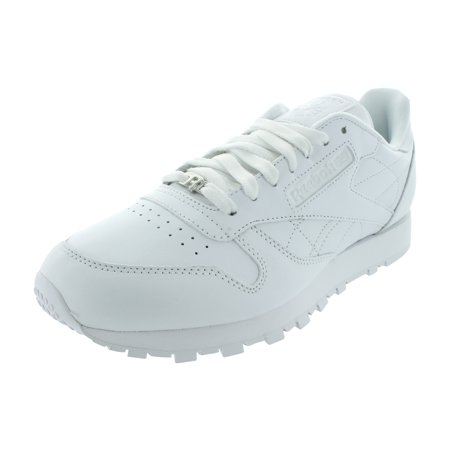 REEBOK CLASSIC LEATHER WHITEWHITE CASUAL WALKING MEN SHOES SNEAKERS J90117 D