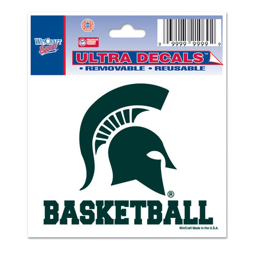 NCAA - Michigan State Spartans 3x4 Basketball Decal
