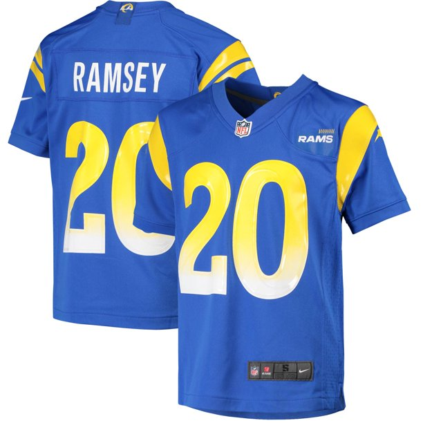 Jalen Ramsey Los Angeles Rams Nike Youth Team Game Jersey - Royal