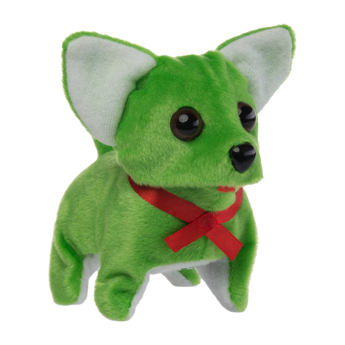 Animatronic Walking Barking Toy Dog Kids Battery Operated Chihuahua Wagging Tail