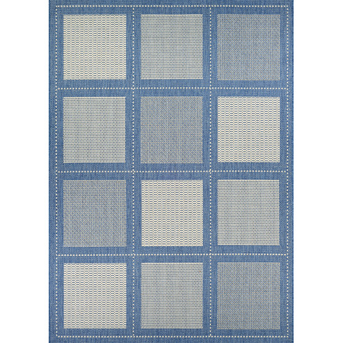 Charlton Home Westlund Blue Indoor Outdoor Area Rug Walmart Com