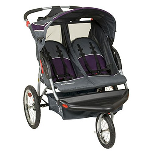 Baby Trend Expedition Double Jogging Stroller, Elixir