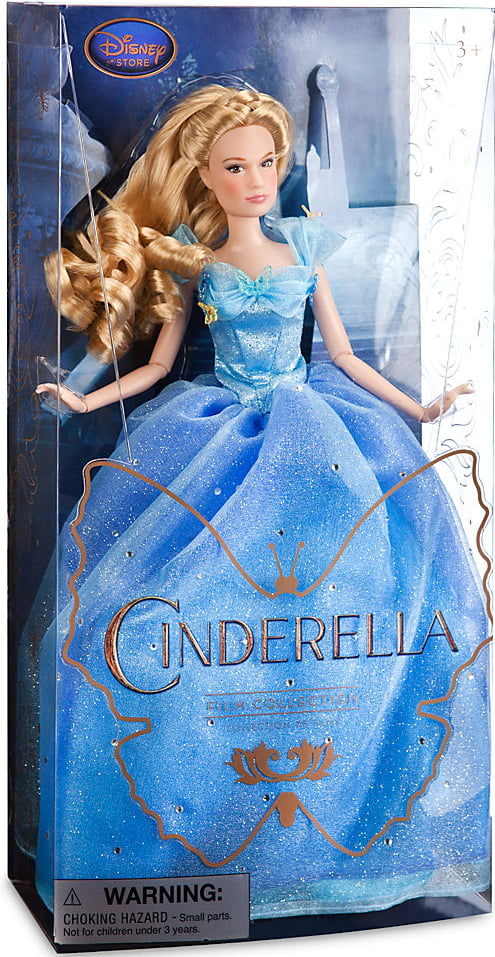 Disney Princess Film Collection Cinderella Doll by