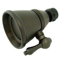 2-.25 Inch Diameter Brass Shower Head - Oil Rubbed Bronze
