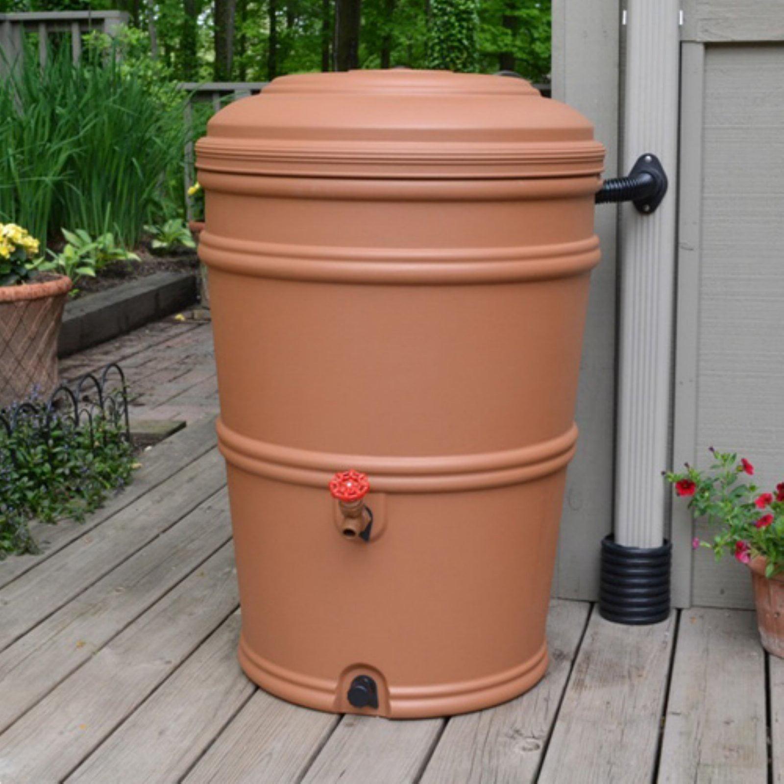 Rain Barrel Rain Station