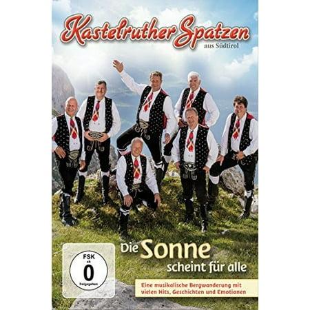 Kastelruther Spatzen - Die Sonne Scheint Fuer Alle [DVD]