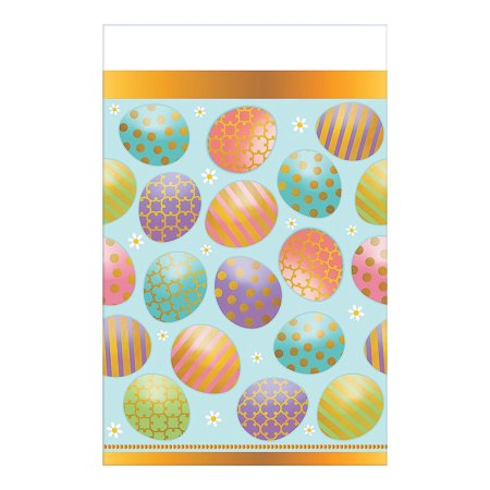 Easter Tablecloth (IN-13774141 Golden Easter Tablecloth 1 Piece(s))