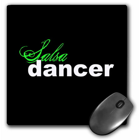 Image of 3dRose Salsa Dancer, Mouse Pad, 8 by 8 inches