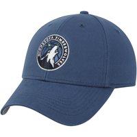 Men's Navy Minnesota Timberwolves Mass Basic Adjustable Hat - OSFA
