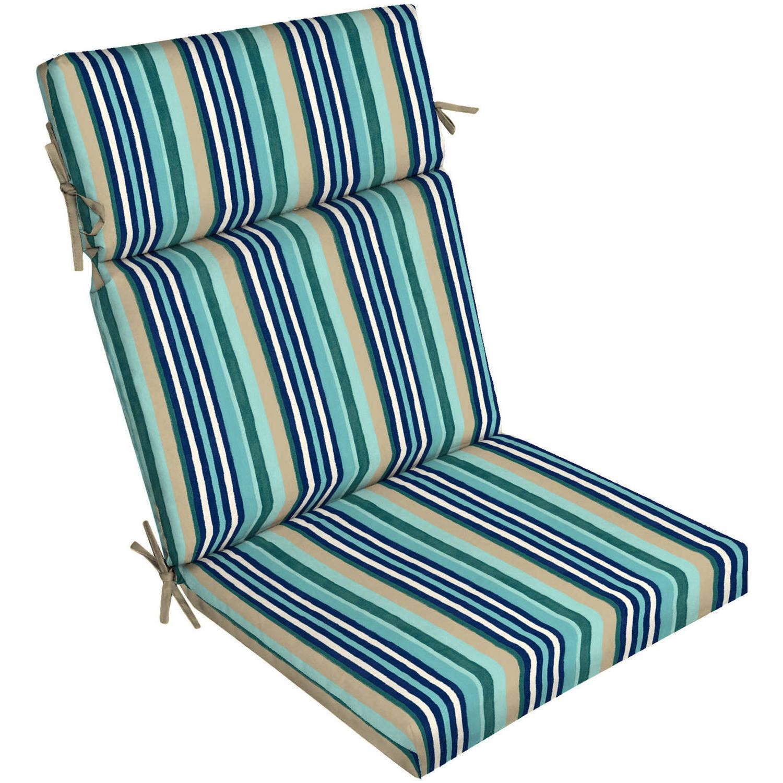 Mainstays Outdoor Patio Dining Chair Cushion Walmart