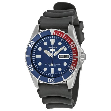 5 Sports Automatic Blue Dial Mens Watch SNZF15J2 5 Sports Automatic Blue Dial