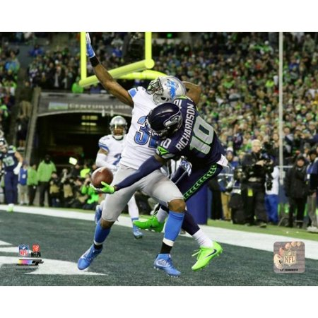 Paul Richardson touchdown catch 2016 NFC Wild Card Game Photo Print