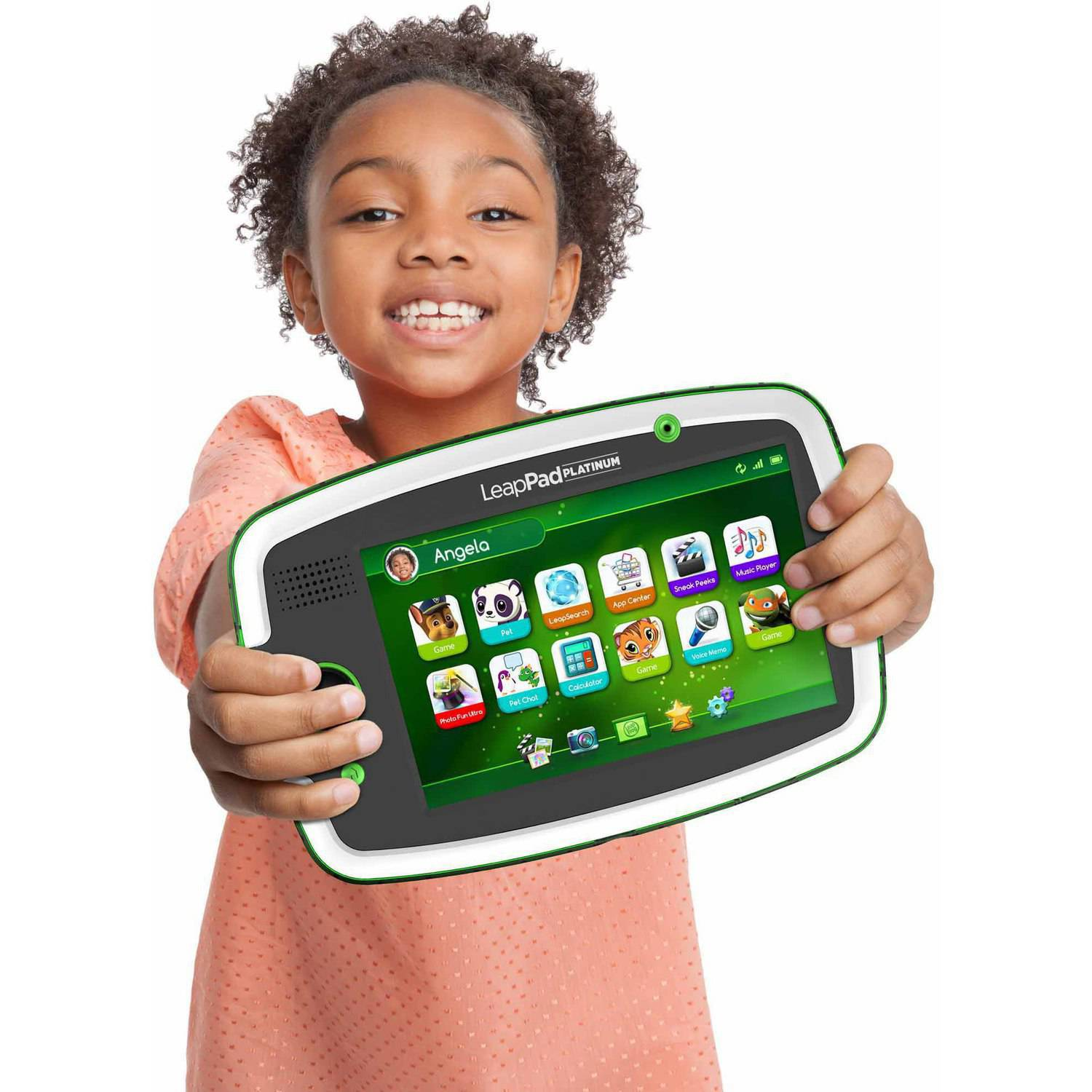 LeapFrog LeapPad Platinum Kids Learning Tablet Green Walmart