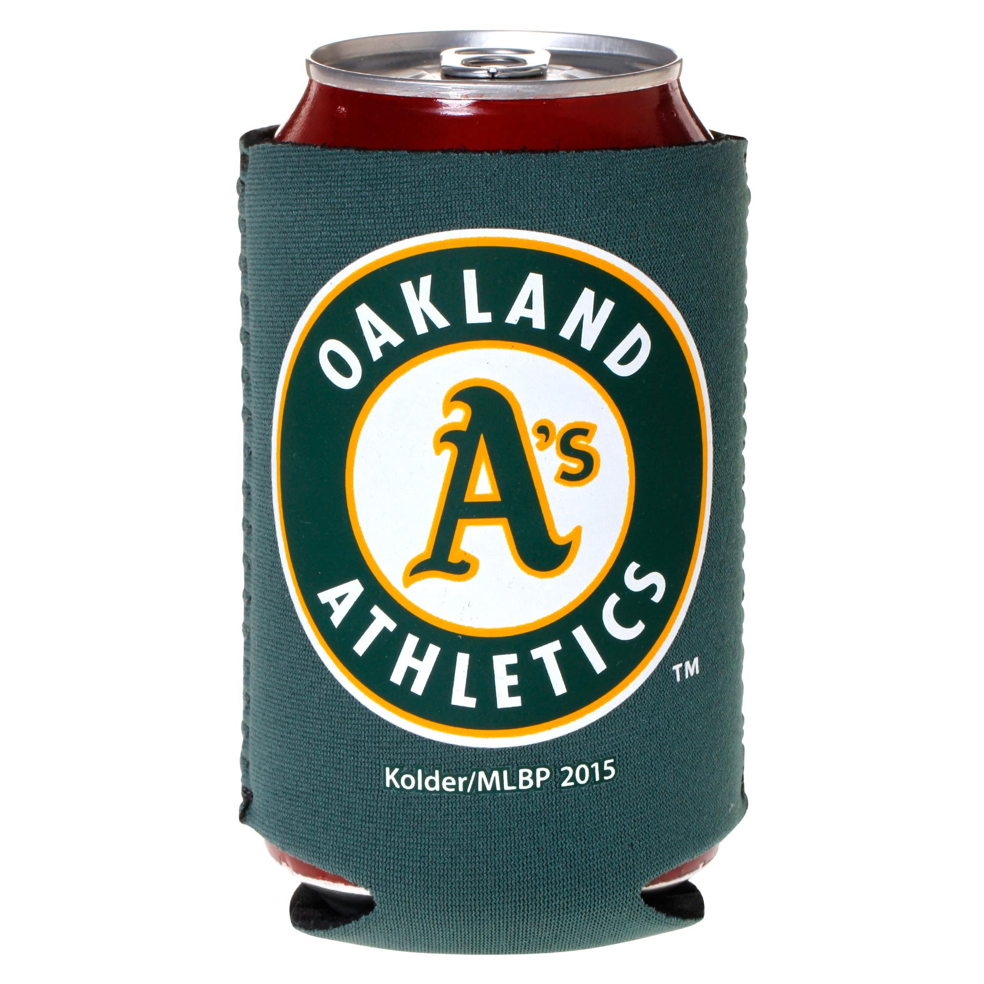 Oakland Athletics Green Collapsible Can Cooler - No Size