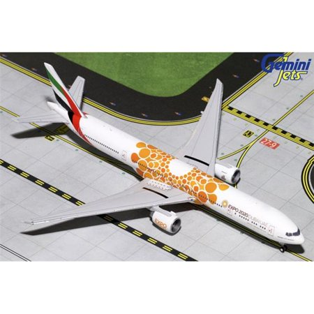 GEMINI EMIRATES 777-300ER 1/400 ORANGE EXPO 2020 REG#A6-EPO (Emirates 1 400)
