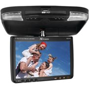 "XO Vision GX2148 9"" Ceiling-Mount LCD Monitor with Built-In DVD Player and FM Transmitter"