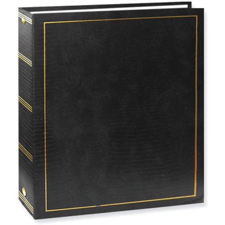 Pioneer LM-100 Magnetic 3-Ring Photo Album Black 3 Ring Memory Albums