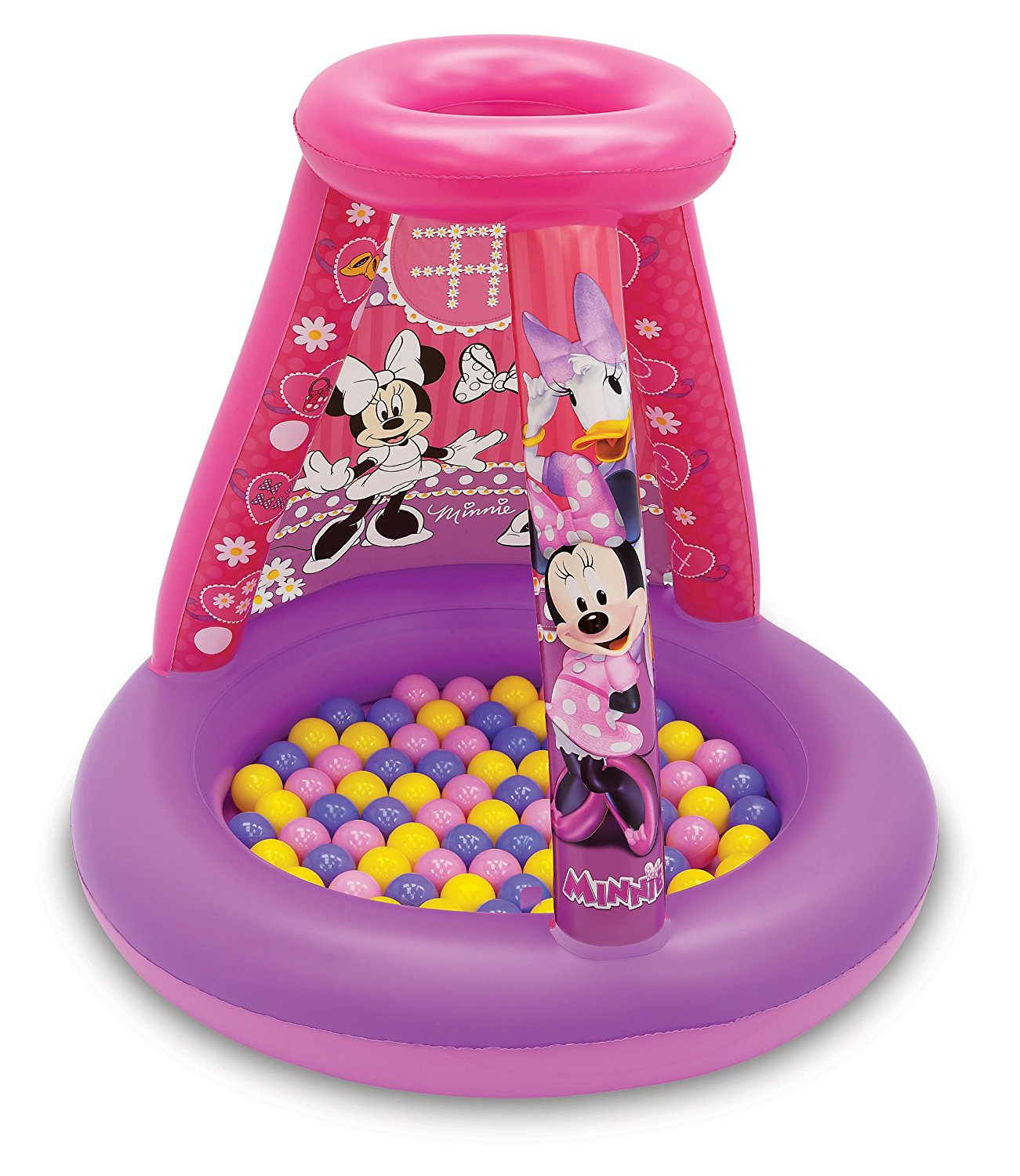 Mouse Disney Color N' Play Activity Playland, Featuring 20 soft flex balls, fun ball toss roof and 4 erasable... by
