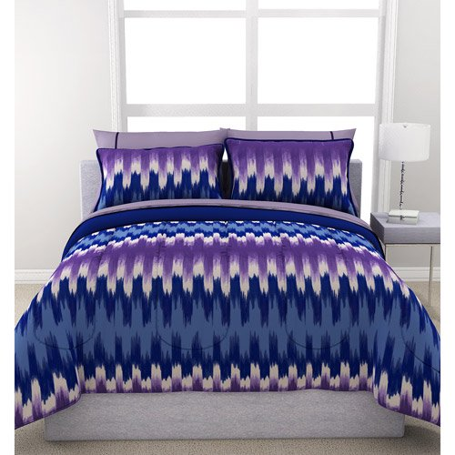 Formula Ikat Reversible Bed In A Bag Bedding Set Walmart Com