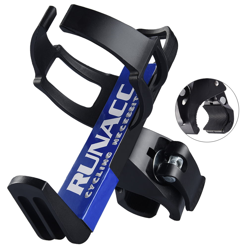 Water Bottle Holder Cycling Cage 360° Adjustable Bicycle Drink Rack Mount Useful