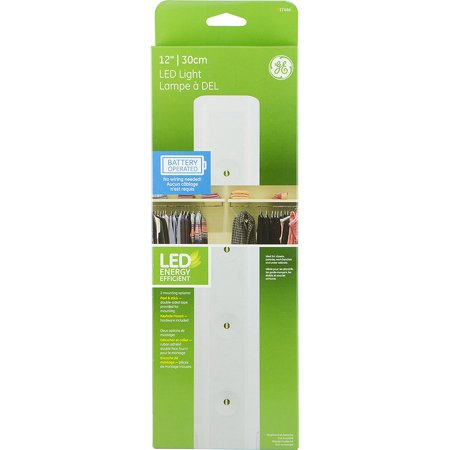 Led Utility Light 12 Quot White Battery Operated Walmart Com