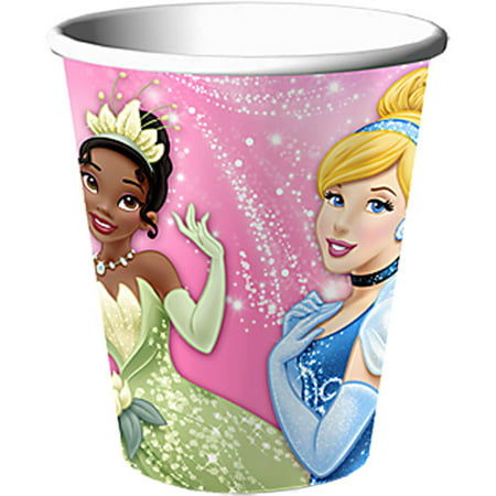Disney Very Important Princess Dream Party 9 Oz Cups 8 - Princess Cups