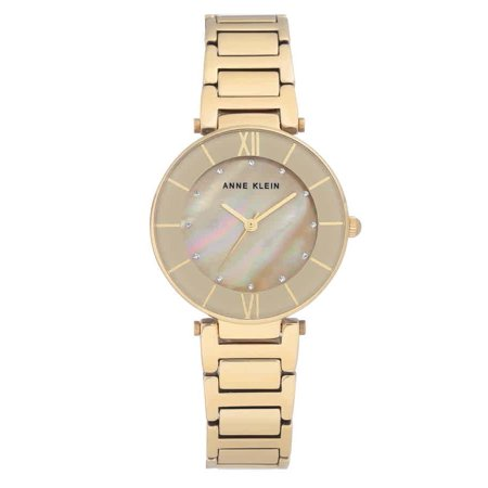 Anne Klein Tan Mother of Pearl Dial Ladies Watch (Tan Mother Of Pearl)