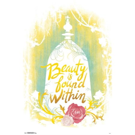 Beauty And The Beast Decor (Trends International Beauty & The Beast Within Wall Poster 22.375