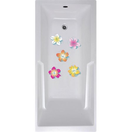 No Slip Mat By Versatraction Flowers Bath Tub And Shower