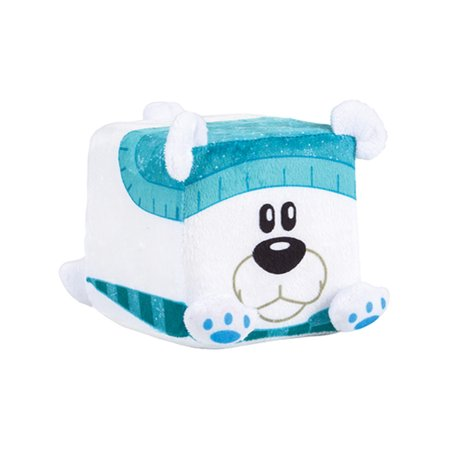 Polar Bear Christmas Winter Season Cube Figure QUBZ Decoration - Christmas Cube Decorating