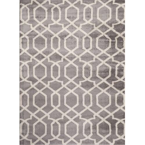 World Rug Gallery Contemporary Trellis Design Indoor Area Rug by World Rug Gallery