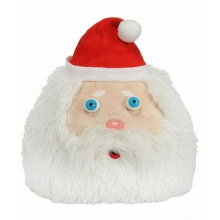 Christmas Chubby Santa Claus Stuffed Animal 12  Plush Pillow Pal