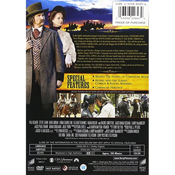 9cd722fab Comanche Moon: The Second Chapter in the Lonesome Dove Saga (DVD)