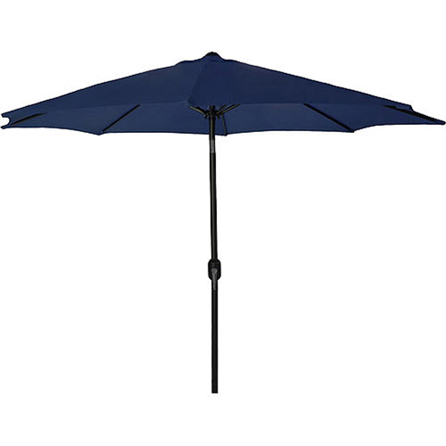 Jordan Manufacturing 9' Steel Market Umbrella, Multiple Colors