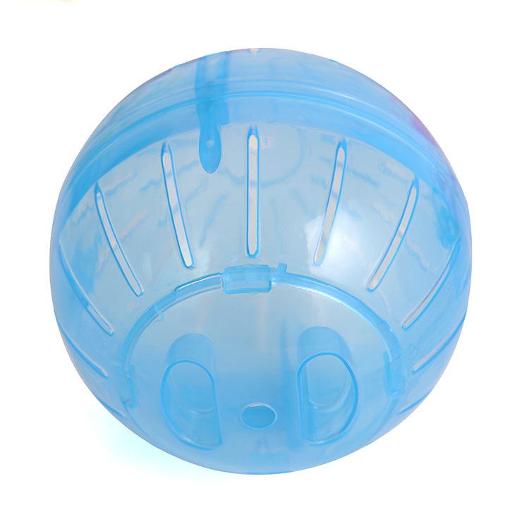 Plastic Pet Rodent Mice Jogging Ball Toy Hamster Gerbil Rat Exercise Balls Play Toys Color:Blue Specification:10cm*10cm*10cm