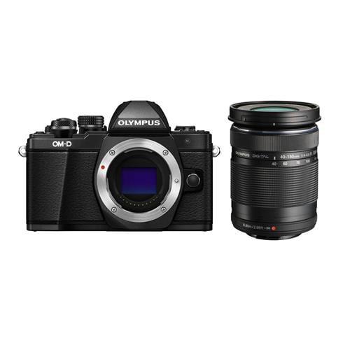 Olympus OM-D E-M10 Mark II Mirrorless Camera Body, Black With Olympus M.Zuiko Digital ED 40mm-150mm f 4-5.6... by Olympus