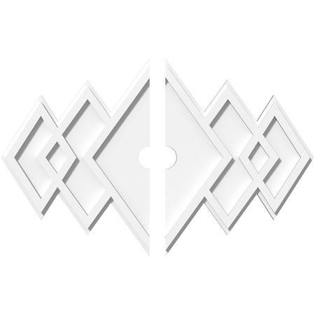 26 W x 17 3 8 H x 2 ID x 8 C x 1 P Zoe Architectural Grade PVC Contem