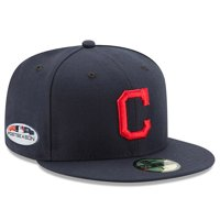 quality design a813f 300c2 Product Image Cleveland Indians New Era Road 2018 Postseason Side Patch  59FIFTY Fitted Hat - Navy