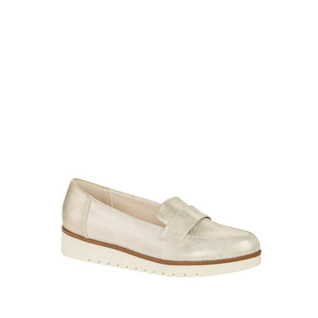 Ladies Time and Tru Wedge Loafer