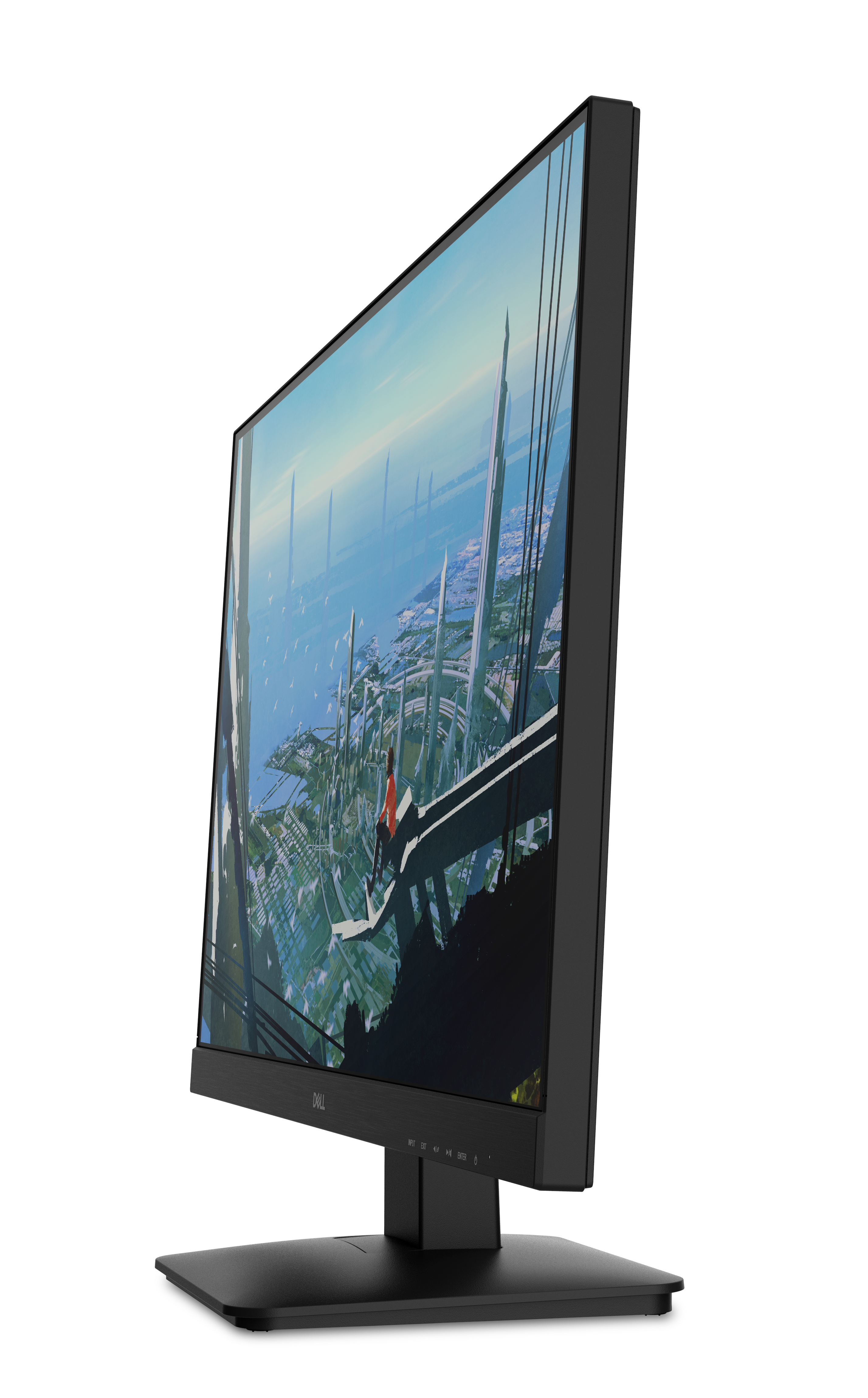 Dell Gaming LED-Lit Monitor 27 inch Black D2719HGF FHD 1920x1080 Wide Screen HDM