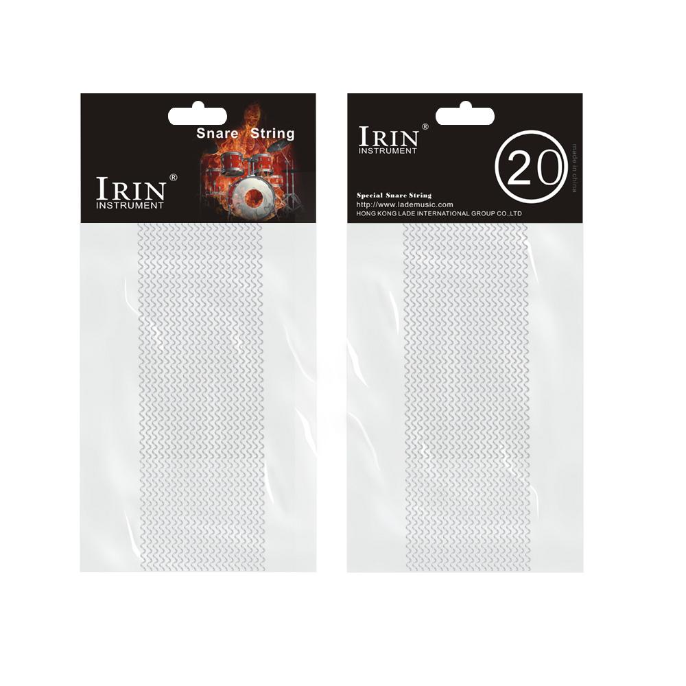 Ktaxon IRIN Snare Drum Silk Half Sand Strip 20-Strand Silver by