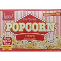 Kitov Microwave Popcorn Natural No Cholesterol 21 Oz. Pack Of 3.