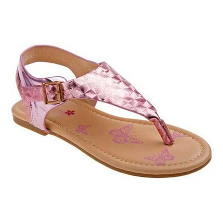 b370f6ed10d1 Petalia - Girls  P79240S Thong Sandal - Walmart.com
