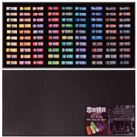 SoHo Urban Artist Soft Pastel Half Stick Pastel Set For Artists Sets 90/120
