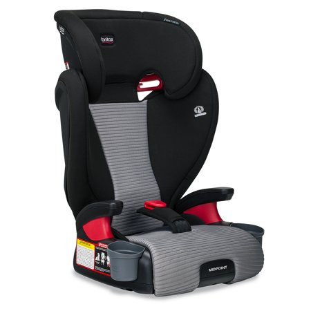 Britax Midpoint Belt-Positioning Booster Car Seat, Dual Comfort