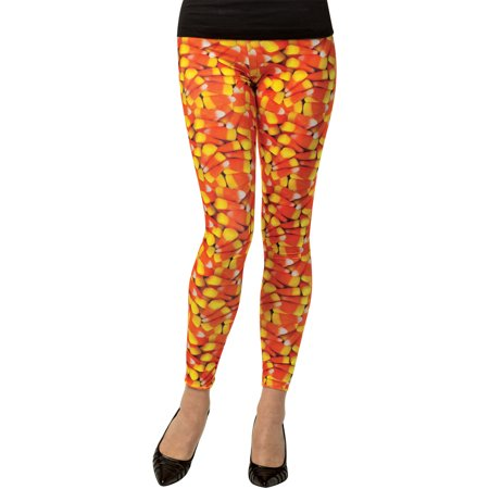 Candy Corn Leggings, Adult