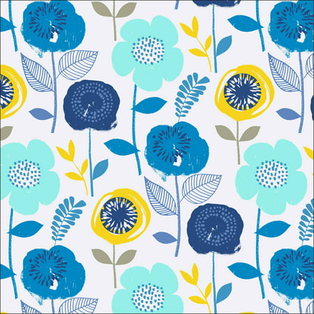 (Waverly Inspirations BLOOM LGN 100% Cotton Print fabric, Quilting fabric, Home Decor ,44'', 140GSM)